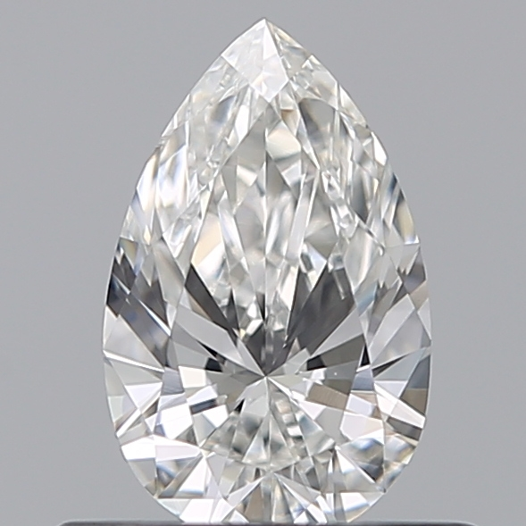 0.41 Carat Pear Loose Diamond, G, VS2, Excellent, GIA Certified