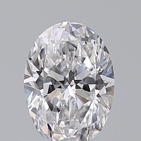 0.51 Carat Oval Loose Diamond, D, VVS2, Ideal, GIA Certified