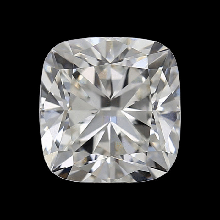 2.01 Carat Cushion Loose Diamond, H, VS1, Ideal, GIA Certified