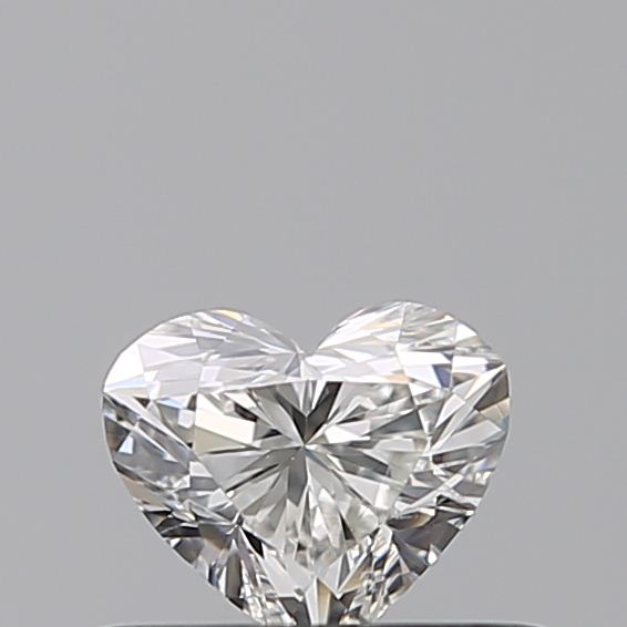 0.31 Carat Heart Loose Diamond, G, VS2, Ideal, GIA Certified