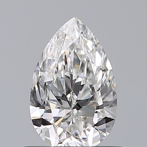 0.59 Carat Pear Loose Diamond, F, VVS2, Super Ideal, GIA Certified | Thumbnail