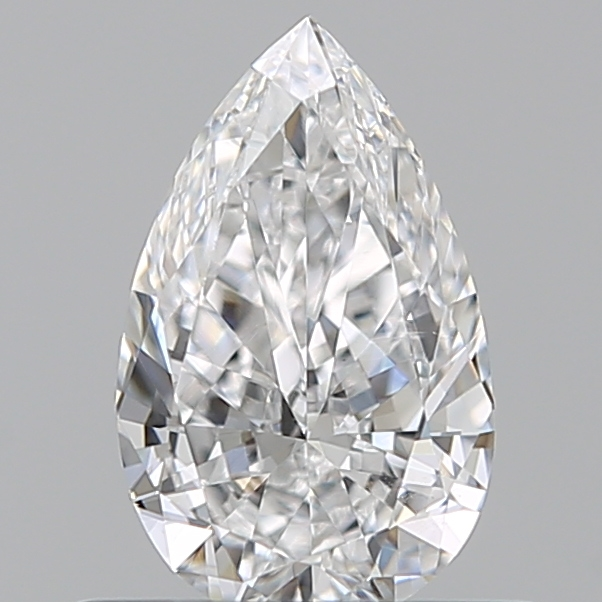 0.44 Carat Pear Loose Diamond, E, VS2, Excellent, GIA Certified | Thumbnail