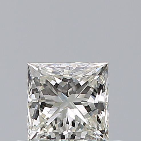 0.43 Carat Princess Loose Diamond, K, SI1, Ideal, GIA Certified