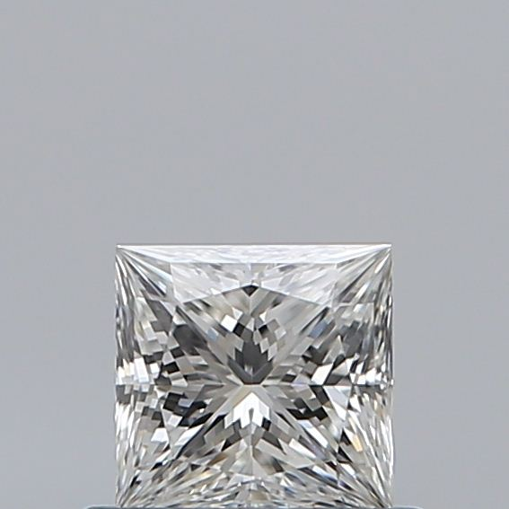 0.50 Carat Princess Loose Diamond, H, VVS2, Super Ideal, GIA Certified