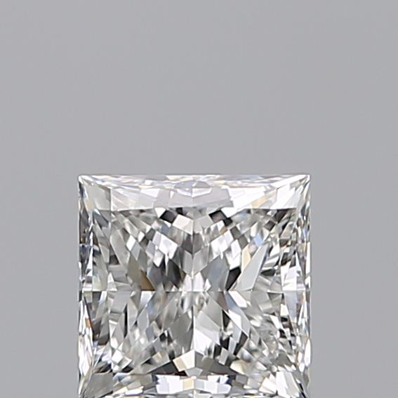 1.00 Carat Princess Loose Diamond, F, VS2, Super Ideal, GIA Certified