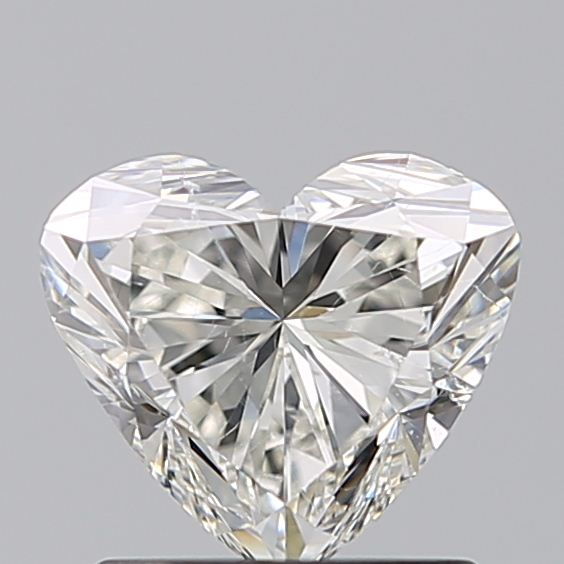 1.00 Carat Heart Loose Diamond, I, SI1, Super Ideal, GIA Certified