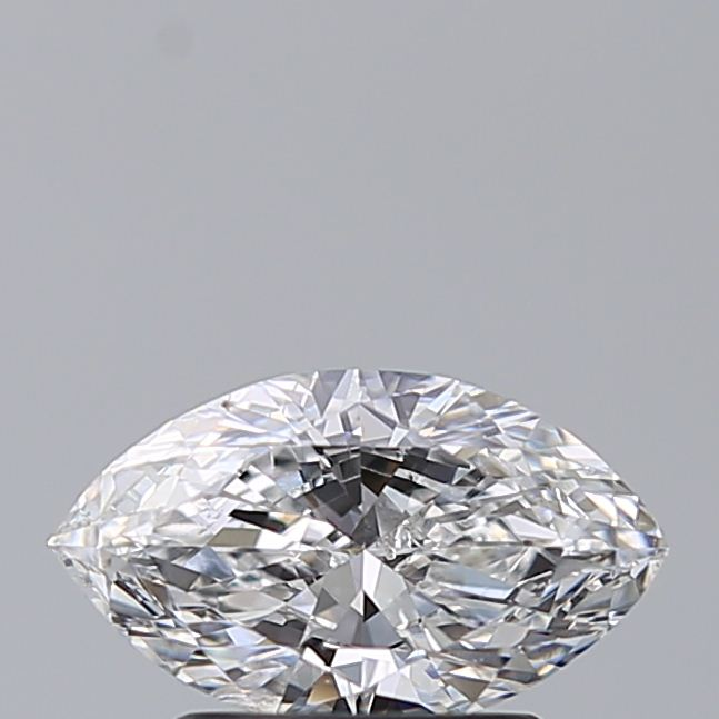1.00 Carat Marquise Loose Diamond, D, SI2, Ideal, GIA Certified