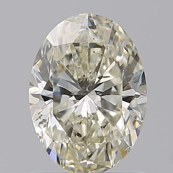 0.96 Carat Oval Loose Diamond, L, SI2, Super Ideal, GIA Certified | Thumbnail