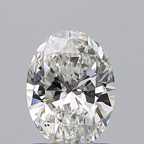 0.96 Carat Oval Loose Diamond, G, SI1, Ideal, GIA Certified