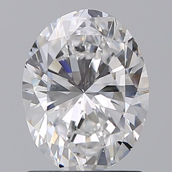 1.20 Carat Oval Loose Diamond, D, SI1, Excellent, GIA Certified