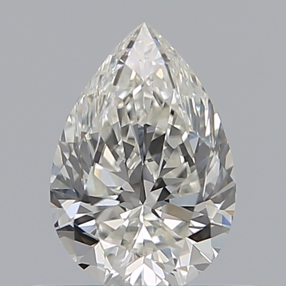 0.52 Carat Pear Loose Diamond, G, VVS1, Ideal, GIA Certified