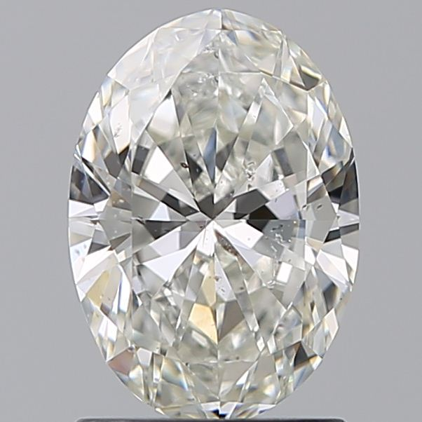1.20 Carat Oval Loose Diamond, I, SI2, Ideal, GIA Certified