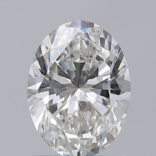 1.00 Carat Oval Loose Diamond, G, SI1, Super Ideal, GIA Certified
