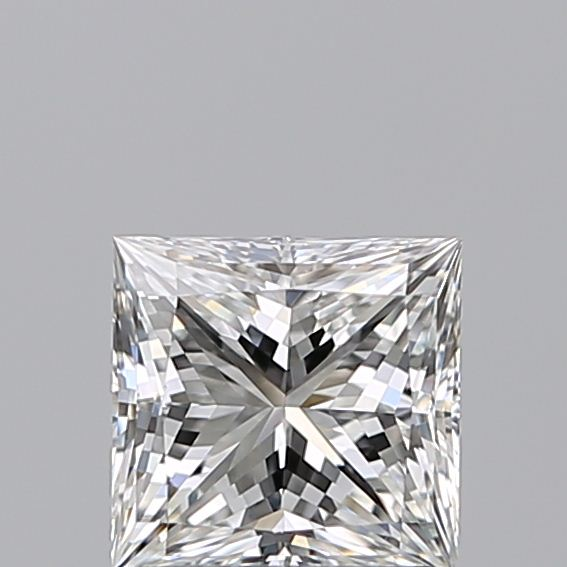 1.00 Carat Princess Loose Diamond, E, VS1, Super Ideal, GIA Certified