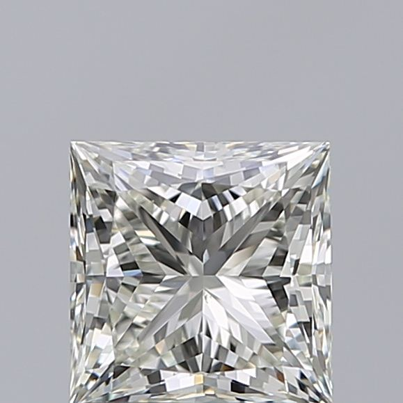 1.00 Carat Princess Loose Diamond, K, VS2, Super Ideal, GIA Certified