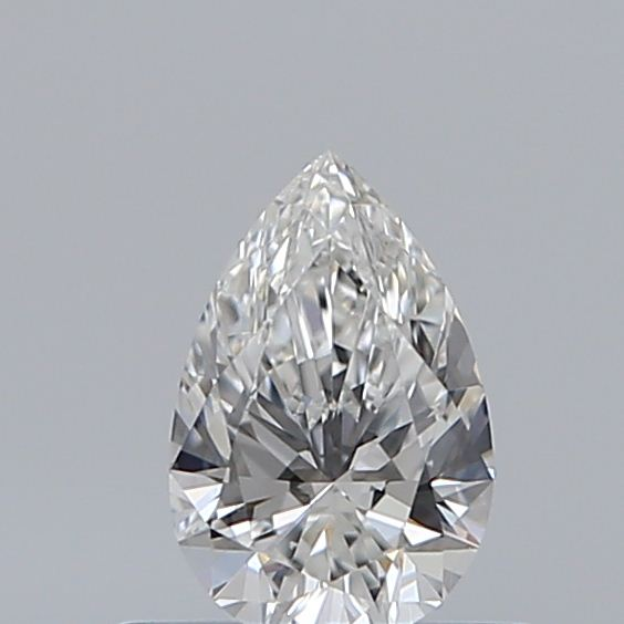 0.42 Carat Pear Loose Diamond, F, VVS1, Super Ideal, GIA Certified