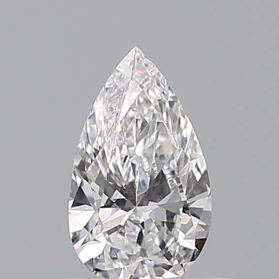 0.32 Carat Pear Loose Diamond, D, VS1, Excellent, GIA Certified | Thumbnail