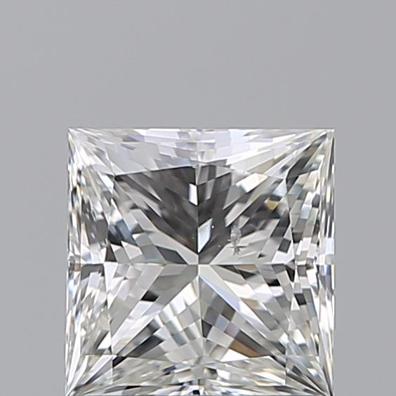 1.00 Carat Princess Loose Diamond, H, SI1, Super Ideal, GIA Certified | Thumbnail