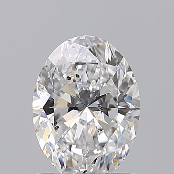 1.01 Carat Oval Loose Diamond, D, SI2, Super Ideal, GIA Certified