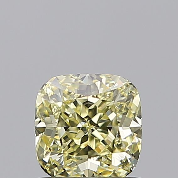 1.01 Carat Cushion Loose Diamond, Fancy Yellow, IF, Ideal, GIA Certified