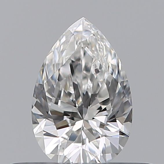 0.30 Carat Pear Loose Diamond, F, VS2, Ideal, GIA Certified