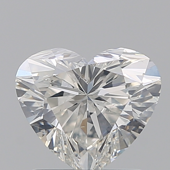 1.00 Carat Heart Loose Diamond, I, SI2, Super Ideal, GIA Certified | Thumbnail