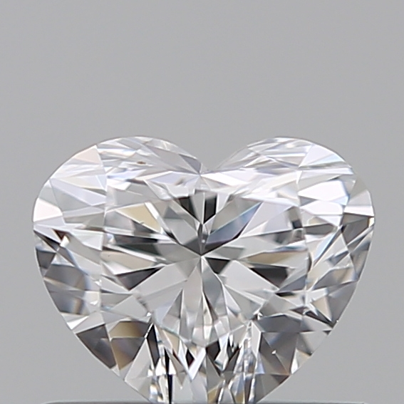 0.47 Carat Heart Loose Diamond, D, VS1, Super Ideal, GIA Certified