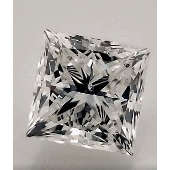 1.10 Carat Princess Loose Diamond, H, SI2, Super Ideal, GIA Certified