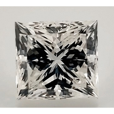 0.91 Carat Princess Loose Diamond, G, VVS1, Ideal, GIA Certified