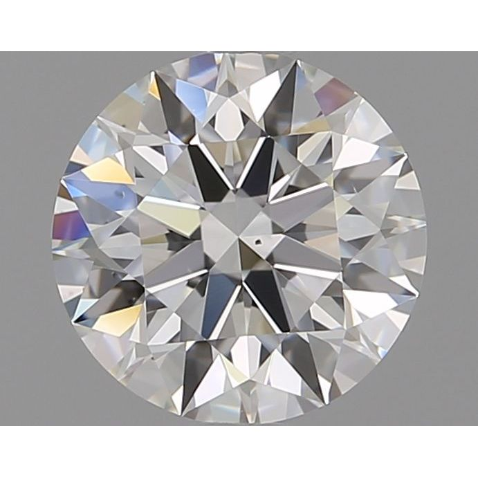 1.17 Carat Round Loose Diamond, H, VS2, Super Ideal, GIA Certified