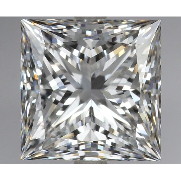3.07 Carat Princess Loose Diamond, F, VS1, Super Ideal, GIA Certified