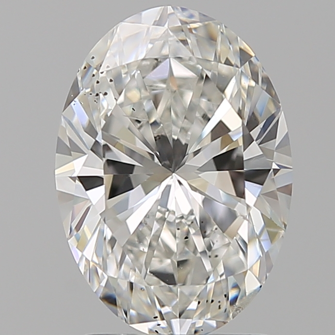 2.01 Carat Oval Loose Diamond, F, SI1, Super Ideal, GIA Certified | Thumbnail