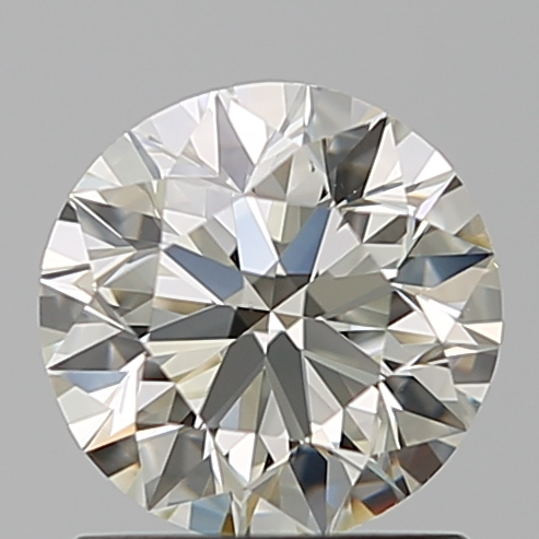 1.01 Carat Round Loose Diamond, L, VS1, Super Ideal, GIA Certified