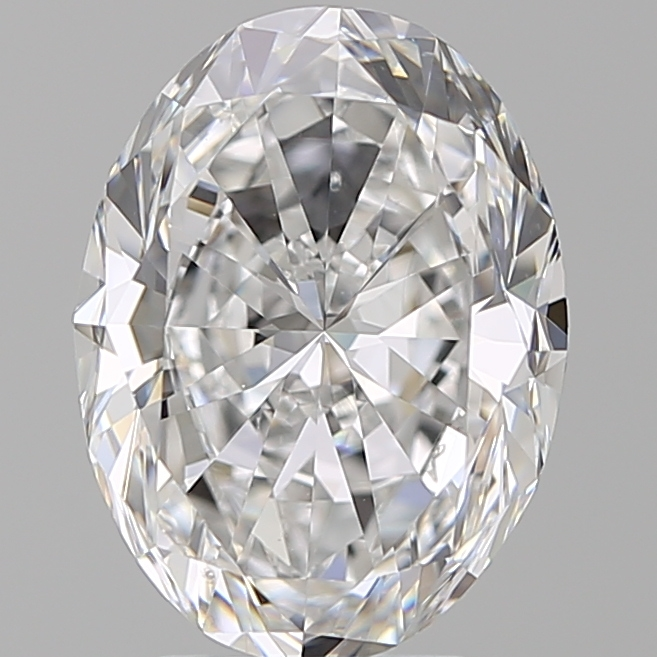 4.01 Carat Oval Loose Diamond, D, VS2, Ideal, GIA Certified | Thumbnail