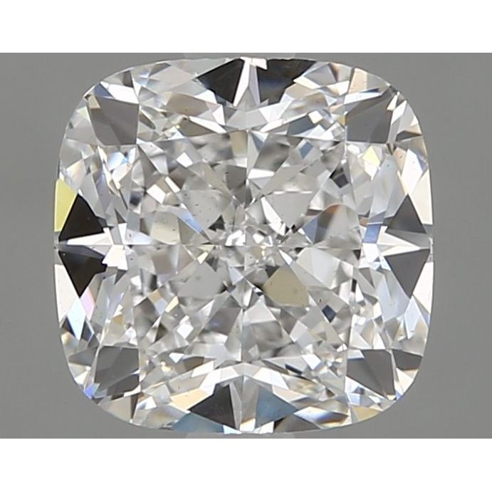 1.70 Carat Cushion Loose Diamond, E, VS2, Ideal, GIA Certified