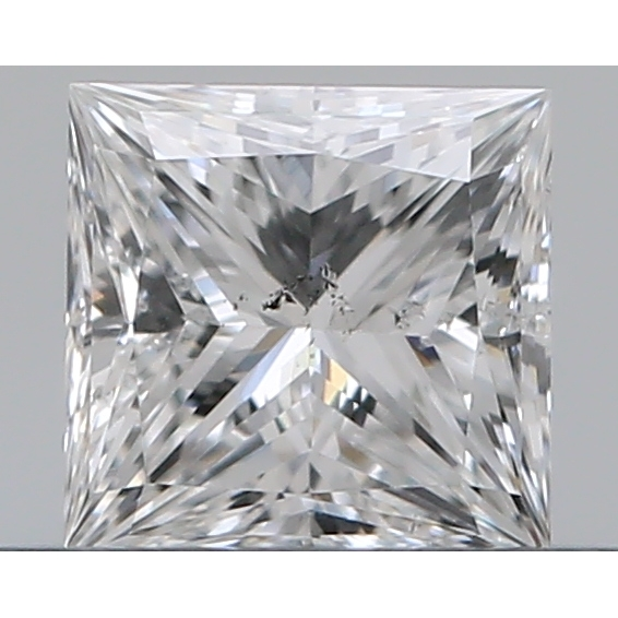 0.40 Carat Princess Loose Diamond, E, SI2, Excellent, GIA Certified