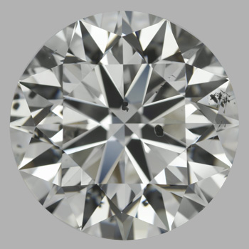 10.01 Carat Round Loose Diamond, G, SI2, Excellent, GIA Certified
