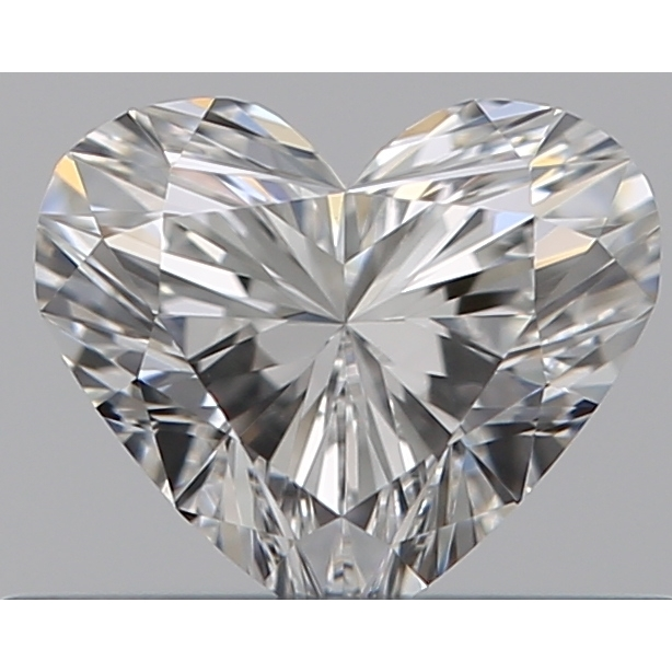 0.33 Carat Heart Loose Diamond, F, VVS1, Super Ideal, GIA Certified