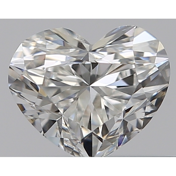 0.34 Carat Heart Loose Diamond, G, VS2, Ideal, GIA Certified