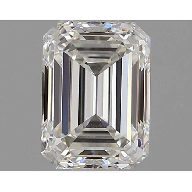 0.80 Carat Emerald Loose Diamond, I, IF, Super Ideal, GIA Certified