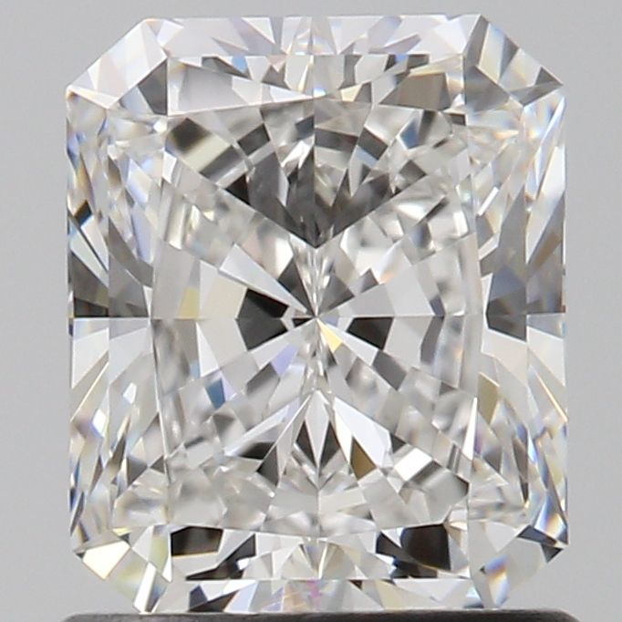 1.03 Carat Radiant Loose Diamond, E, IF, Super Ideal, GIA Certified