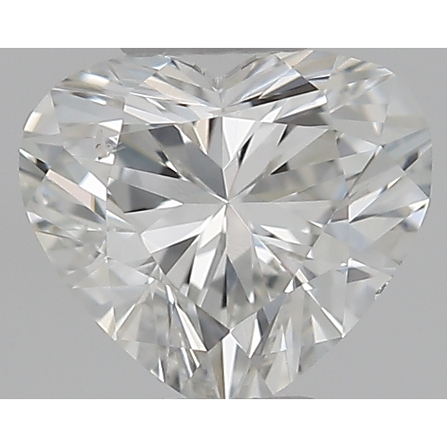 0.30 Carat Heart Loose Diamond, G, SI1, Ideal, GIA Certified