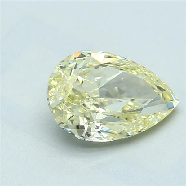1.35 Carat Pear Loose Diamond, FLY FLY, VVS2, Ideal, GIA Certified