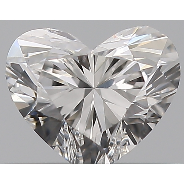 0.32 Carat Heart Loose Diamond, E, VS2, Ideal, GIA Certified