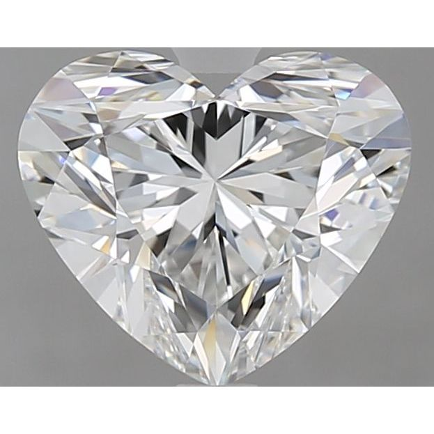 2.10 Carat Heart Loose Diamond, F, VVS1, Super Ideal, GIA Certified