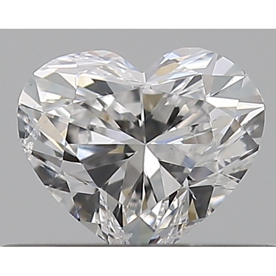 0.30 Carat Heart Loose Diamond, E, SI1, Ideal, GIA Certified