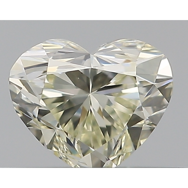 0.30 Carat Heart Loose Diamond, N, VS1, Ideal, GIA Certified