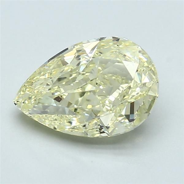 1.72 Carat Pear Loose Diamond, FLY FLY, VS2, Ideal, GIA Certified