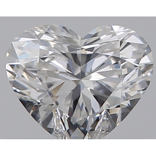 0.30 Carat Heart Loose Diamond, F, SI1, Excellent, GIA Certified