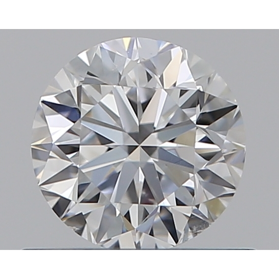 0.50 Carat Round Loose Diamond, D, SI1, Excellent, GIA Certified